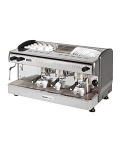 Koffiemachine Bartscher, espresso, 1 boiler, 17.5L, 97(b)x53(h)x58(d), 400V/4200W