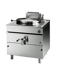Kookketel Bartscher, Gas, indirecte verwarming, 342L, 115x130x90cm, 48kW