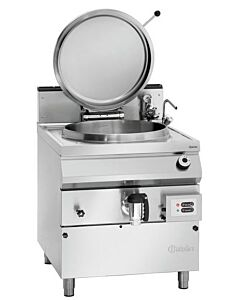 Kookketel Bartscher, gas, 100L, gecontr. W.niv, 80(b)x90/95(h)x90(d)cm, gas:21kW