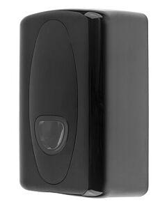 Poetsroldispenser PlastiQline 2020, mini, zwart, ABS kunststof