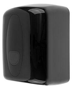 Poetsroldispenser PlastiQline 2020, midi, zwart, ABS kunststof