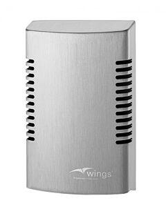 Luchtverfrisser dispenser Wings, wandmontage, RVS, AFP-C, WIN AF SAL