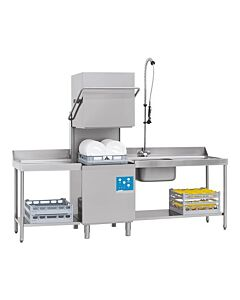 Vaatwasmachine Fast-180, H148 x B80 x L71, 400V / 8500W
