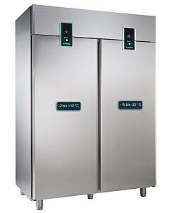Koelvries combinatie Alpeninox 1430L, 144(B) X 205(H) X84(D), 230V/520W