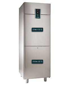Koelvries combinatie Alpeninox 670L, 71(B) X 205(H) X84(D), 230V/680W