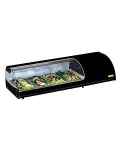 Sushi vitrines Nordcap 6x GN 1/3, 144(B) X 26(H) X 38(D), 230V/270W