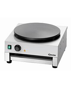 Crêpe-bakplaat 1CP400, 60(b)x50(d)x26(h)cm, 230V/3000W
