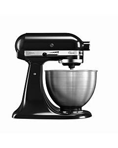 KitchenAid 5K45SSEOB, zwart, 4,28L, 36(b)x25(d)x36(h)cm, 230V/275W