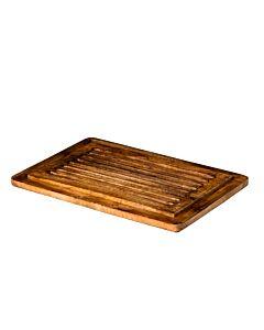 Houten brood bord 48 x 32 x 2 cm, doos van 2 stuks