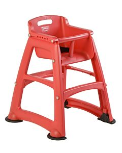 Sturdy Chair Kinderstoel, Rubbermaid, model: VB 007814, rood