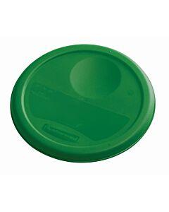 Deksel voor ronde Container 3,8 ltr Fruit/Salades, Rubbermaid, model: VB 232349, 12 stuks per verpakking, groen
