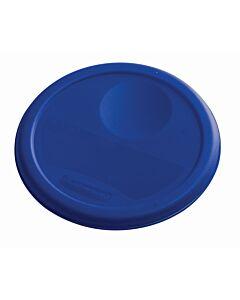 Deksel voor ronde container 3,8 ltr Verse vis, Rubbermaid, model: VB 232356, 12 stuks per verpakking, blauw
