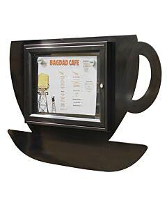 Menukast Crea Koffie, 2x A4, 5 kleuren