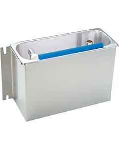 RVS Ijslepelspoelbak inbouw incl. douche en waterafvoer