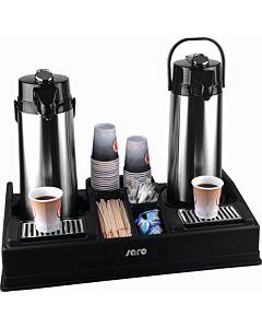 Koffiestation Saro, voor kannen met een diameter van max.19cm