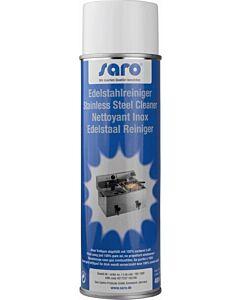 Reiniger spray RVS Saro, voor: Gepolijst edelstaal, chroom, koper en aluminium