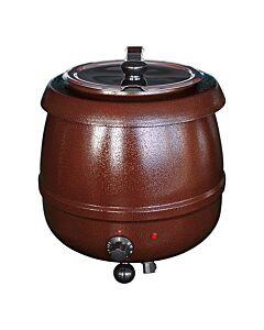 Soepketel Bistro bruin 10L, 230V / 400W