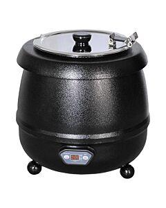 Soepketel Bistro Digi zwart 10L, 230V / 400W, 35cm Ø, (h)36