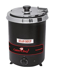 Bain Marie Foodwarmer CaterChef, 5,7 ltr, zwart, 230V / 300W