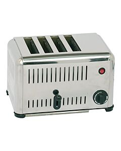 Broodrooster 4 dlg caterchef, H23 x B21 x L37, 230V / 2000W