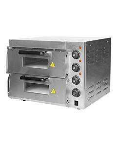 Pizza oven, 2x 40cm pizza, 44x 56x 56 cm, 230V / 3000W