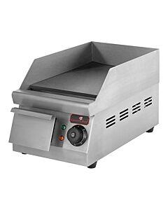 Bak/grillplaat mini glad, H27 x B26 x D42, 230V / 1500W