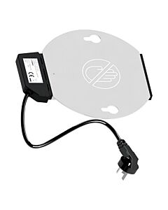 Elektrische verhittingsplaat voor chafing dishes van Genoa, 230V / 360W