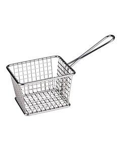 Serveer patat/aardappel mandje Mini 12X10cm, HVS-Select