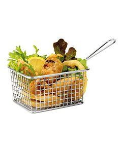 Serveer patat/aardappel mandje Mini 14X11cm, HVS-Select