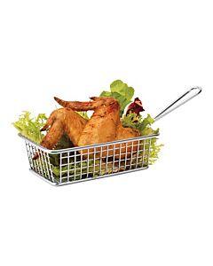 Serveer patat/aardappel mandje Mini 16X10cm, HVS-Select