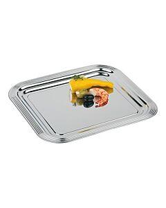 Serveerplateau Verchroomd 35X32, HVS-Select