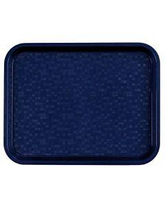 Dienblad 34,5x26,5cm Polypropyleen blauw, Roltex