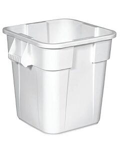 Afvalcontainer 150 Lit. Wit, Rubbermaid