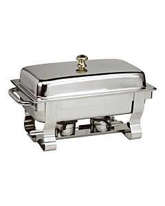 Chafing Dish Maxpro Deluxe, RVS, 35(h)x65(l)x34(b), Compleet
