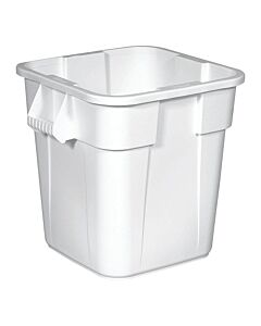 Afvalcontainer 105 Lit. Wit, Rubbermaid