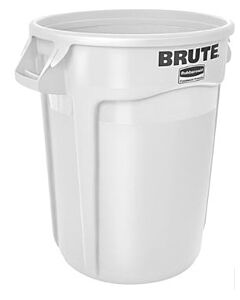 Afvalcontainer 121 Lit. Wit, Rubbermaid