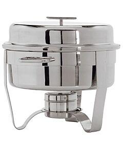 Chafing dish Maxpro, RVS, 8L, Rond, 40(h)xØ41cm, compleet