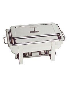 Chafing Dish Maxpro Millennium, RVS, 1/1 GN, 37(h)x60(l)x35(b), compleet
