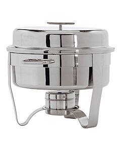 Chafing Dish Maxpro, RVS, 5L, Rond, 31(h)xØ34cm, compleet