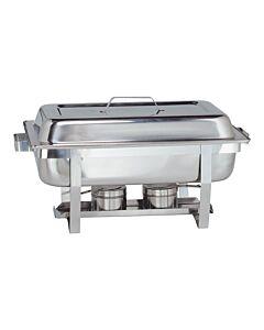 Chafing Dish Maxpro Basic, RVS, 1/1GN, 37(h)x62(l)x35(b), compleet