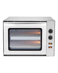 Pizza oven Caterchef, 2x36 cm pizza's, 61x56x42(h)cm, 230V/3000W
