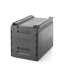 Hendi Thermo catering box, PP , Zwart, 40(b)x60(d)x49(h)cm, 707661
