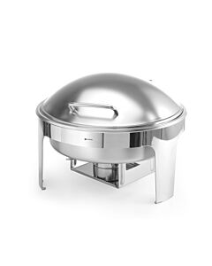 Hendi Chafing dish rond satin finish, RVS, 42(b)x46,5(d)x32(h)cm, 470282