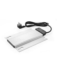 Hendi Verwarmingselement voor Chafing Dish voor onder waterbak, Aluminium, Zilver, 20(b)x30(d)x1,9(h)cm, 809709