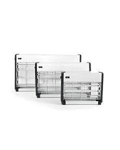 Hendi Elektrische insectenverdelger, ABS Aluminium, Zilver, 9(b)x33,5(d)x26(h)cm, 270158