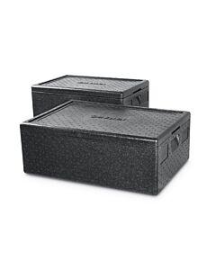 Hendi Thermobox Kitchen Line, PP , Zwart, 40(b)x60(d)x28,5(h)cm, 707906