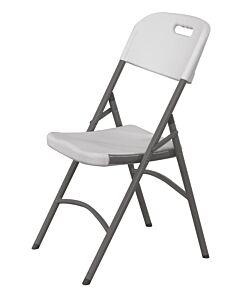 Hendi Catering stoel - lichtgrijs, HDPE (Hoge dichtheid Polyethyleen), Lichtgrijs, 44(b)x54(d)x84(h)cm, 810965