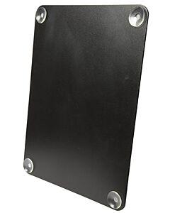 Raamkrijtbord Securit, Zwart, 27x36 cm, incl zuignappen
