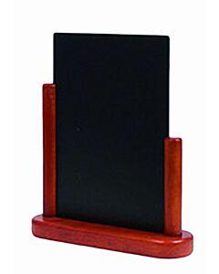 Tafelkrijtbord Securit, Elegant, Mahonie, A6