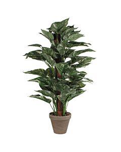 Kunstplant Scindapsus Mosstok 65cm, Groen